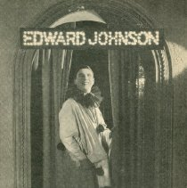 Image of Edward Johnson Record Ad