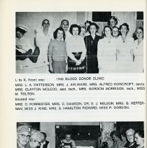 Image of 1943 Blood Donor Clinic;1957 Workroom, p.18