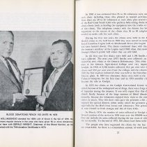 Image of Roy Hollingshead & Gerald Wright; Blood Donor Service, pp.26-27