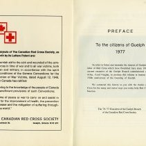 Image of Preface, To the Citizens of Guelph, 1977