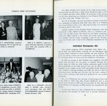 Image of Women's Work Volunteers; Individual Emergency Aid, pp.34-35