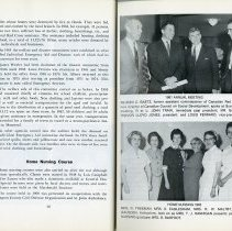 Image of Home Nursing Course; 1961 Annual Meeting, pp.36-37