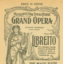 Image of MET Program Magic Flute