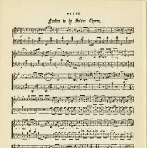"""Image of Music, """"Fanfare in the Soldier Chorus,"""" p.54"""