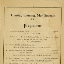 Image of Programme, Tuesday, May 7th, p.7