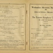 Image of Educational Programme by Toronto Symphony Orchestra, p.10-11