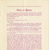 Image of Order of Service, page 5