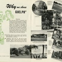Image of Why we chose Guelph, pages 18, 19