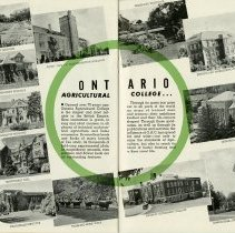 Image of Ontario Agricultural College, pages 26, 27