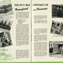 Image of Guelph's War Contribution, Homefront and Overseas