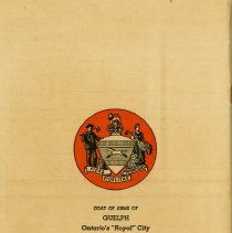 Image of Back Cover, City of Guelph Coat of Arms
