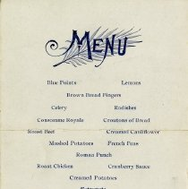 Image of Menu