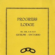 Image of Independent Order of Oddfellows Lodge No.158, Meeting Schedule
