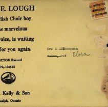 Image of Envelope from C.W. Kelly & Son, Guelph, Ont.
