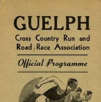Image of Guelph Cross Country Run & Road Race Association Program, 1950