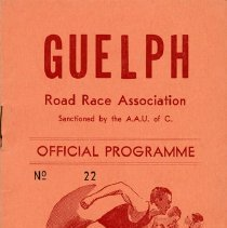 Image of Guelph Road Race Association Official Programme, 1955