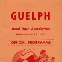 Image of Guelph Road Race Association Official Program, 1962