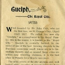 Image of Guelph, The Royal City, p.5