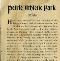 Image of Petrie Athletic Park, p.6