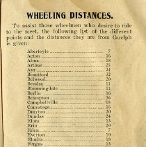 Image of Wheeling Distances from Guelph, p.23