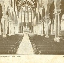 Image of Interior of Church of Our Lady
