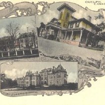 Image of Three Guelph Hospitals, c.1910