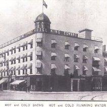 Image of King Edward Hotel, c.1910