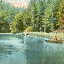 Image of Canoeing & Fishing, Speed R.