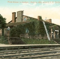 Image of Priory as Train Station c.1910