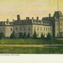 Image of Johnston Hall, OAC, c.1910