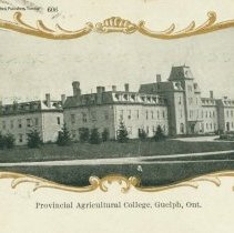 Image of Johnston Hall, OAC, 1905