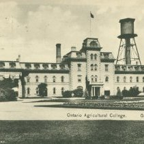 Image of Johnston Hall, OAC, 1909