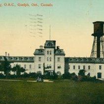 Image of Johnston Hall, OAC, 1913