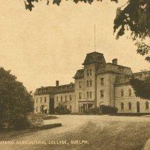 Image of Johnston Hall, OAC, 1909