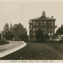 Image of Masssey Hall, OAC, 1913