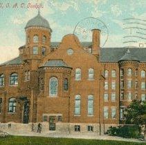 Image of Massey Hall, OAC, 1908