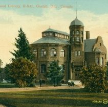 Image of Massey Hall and Library, OAC