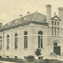 Image of Gymnasium, OAC, 1909
