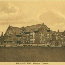 Image of Macdonald Hall, OAC, 1912