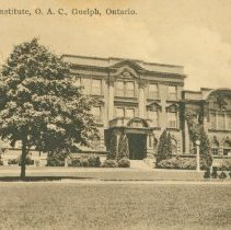 Image of Macdonald Institute, OAC, 1935