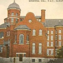 Image of Massey Hall & Library, OAC