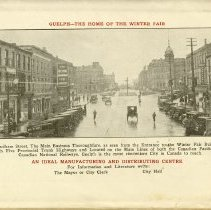 Image of Downtown Guelph, back cover