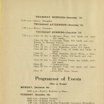 Image of Programme of Events, page 4