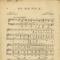 Image of My Ain Folk, Music, p.2