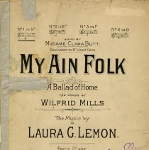 "Image of ""My Ain Folk"" by Laura G. Lemon"