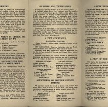 Image of Fruitville Recipes Pamphlet, circa 1935