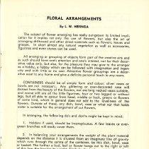 Image of Floral Arrangements, p. 5