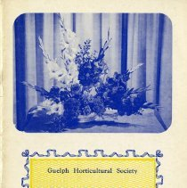 Image of Gueph Horticultural Society Coronation Annual, 1953