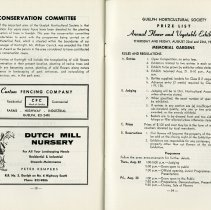 Image of Conservation Committee; Flower & Vegetable Exhibition,  pp.38-9