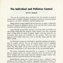 Image of The Individual and Pollution Control, p.26